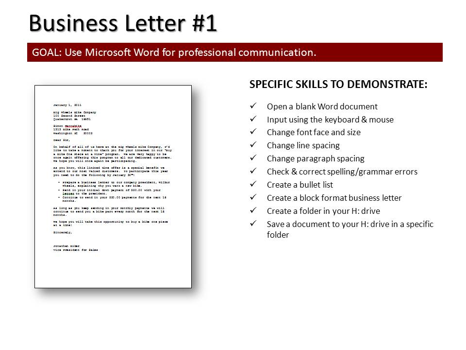 Mla Business Letter Format from www.todayincomputerclass.com